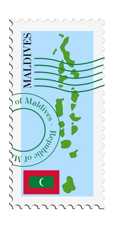 mail tofrom Maldives