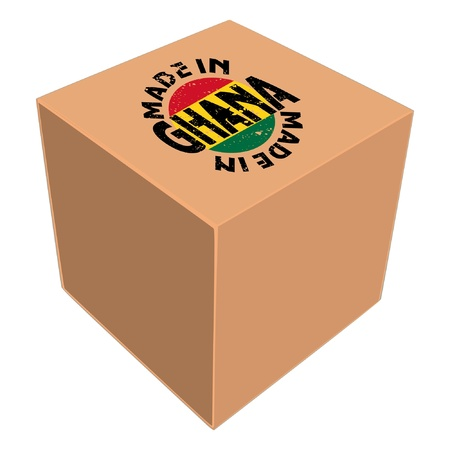 Made in Ghana Stock Vector - 11934183