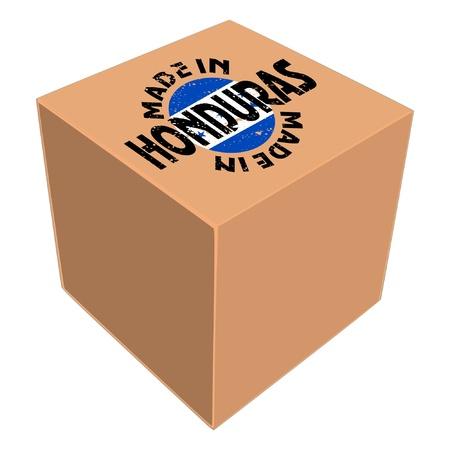 Made in Honduras Stock Vector - 11934102