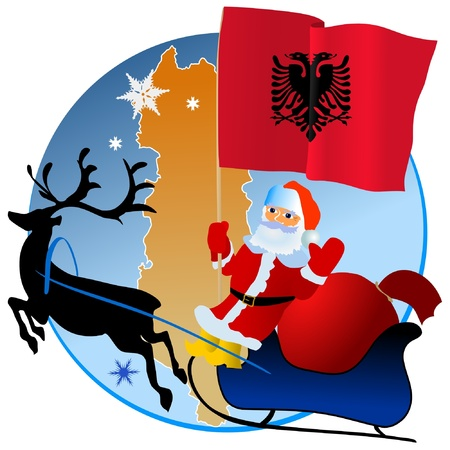 waiving: Merry Christmas, Albania!