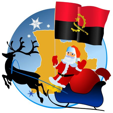 waiving: Merry Christmas, Angola! Illustration