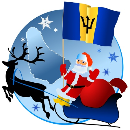 waiving: Merry Christmas, Barbados!