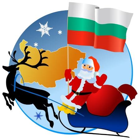 Merry Christmas, Bulgaria! Stock Vector - 11934374