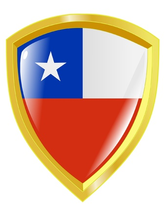 emblem of Chile Vector