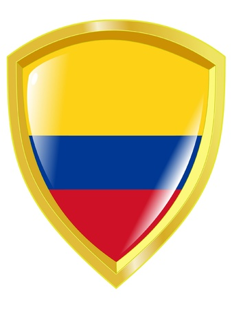 emblem of Colombia Vector