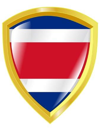 costa rica: emblem of Costa Rica