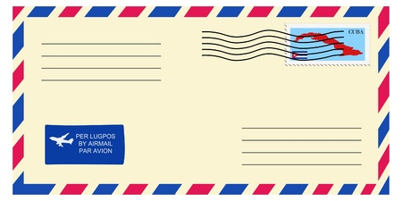 mailer: letter tofrom Cuba