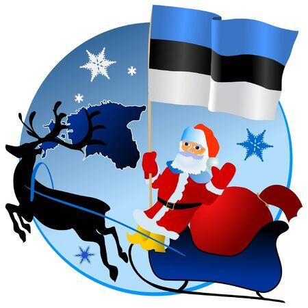 waiving: Merry Christmas, Estonia!
