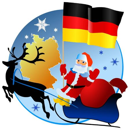 waiving: Merry Christmas, Germany!