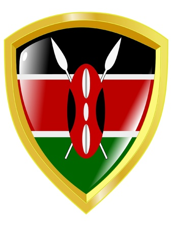 emblem of Kenya Stock Vector - 11934338