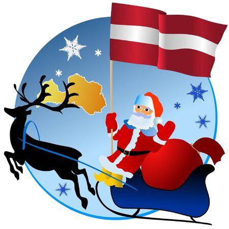 waiving: Merry Christmas, Latvia!