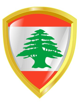 emblem of Lebanon Vector