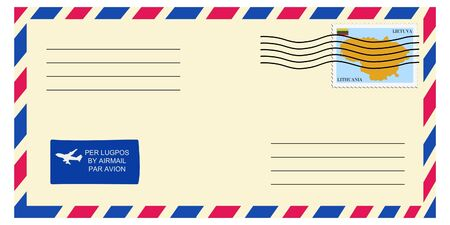 lithuania: letter tofrom Lithuania