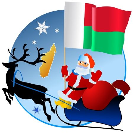waiving: Merry Christmas, Madagascar!