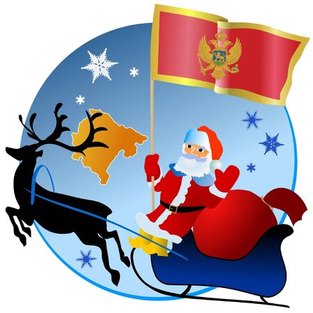 waiving: Merry Christmas, Montenegro!