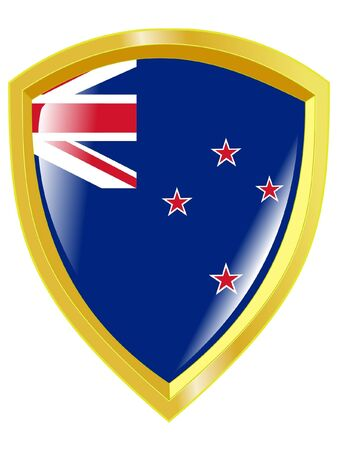 emblem of New Zealand Vector
