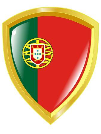 emblem of Portugal Vector