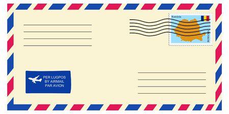 romania: letter tofrom Romania