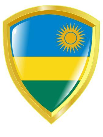 emblem of Rwanda Vector
