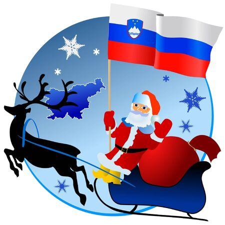 waiving: Merry Christmas, Slovenia!