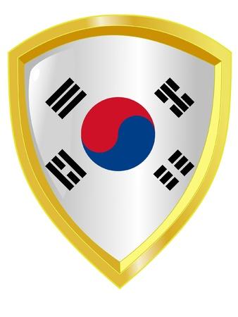 emblem of South Korea Vector