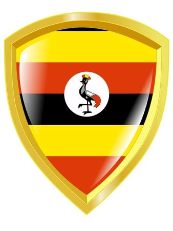 uganda: emblem of Uganda