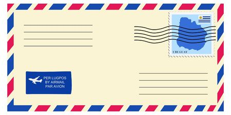 mailer: letter tofrom Uruguay