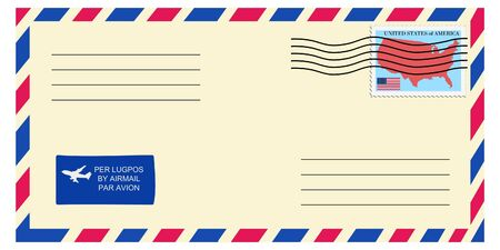 mailer: letter tofrom United States
