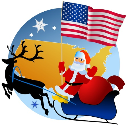 waiving: Merry Christmas, United States!