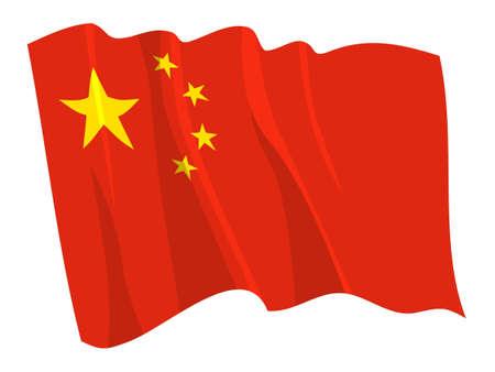 Bandera de política de China
