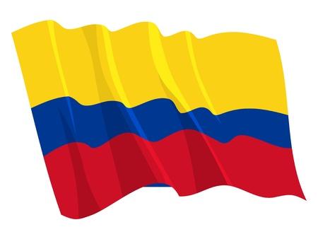 bandera de colombia: Bandera de Política de Colombia
