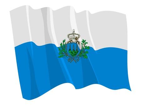 sammarinese: Sbandieratori politico di San Marino