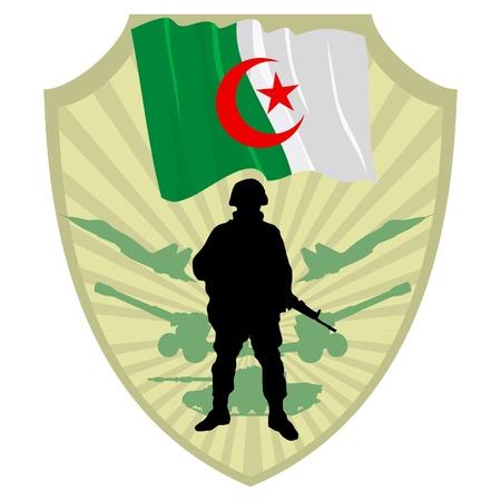 Algeria: Army of Algeria Illustration