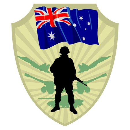 Army of Australia Vector