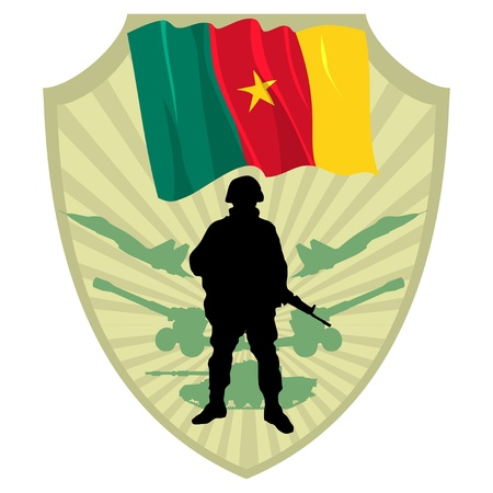 Army of Cameroon Vector