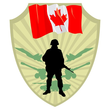 Army of Canada Vector