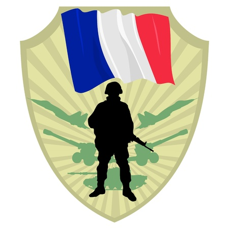 Army of France Stock Vector - 13511159
