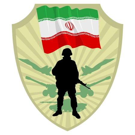 offensive: Army of Iran Illustration