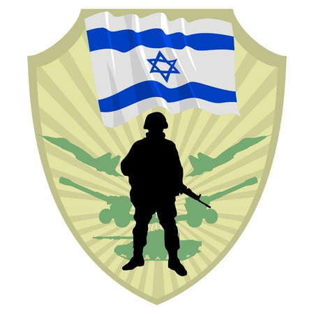 Army of Israel Vector