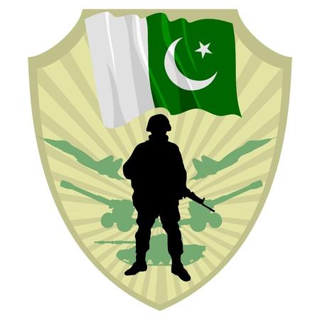 파키스탄: 파키스탄의 육군 일러스트