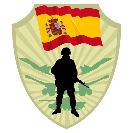 Army of Spain Stock Vector - 13511171