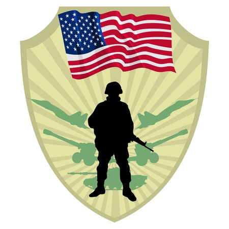 Army of USA Stock Vector - 13511169