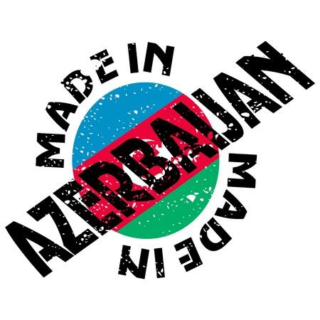 vector label Made in Azerbaijan Vector