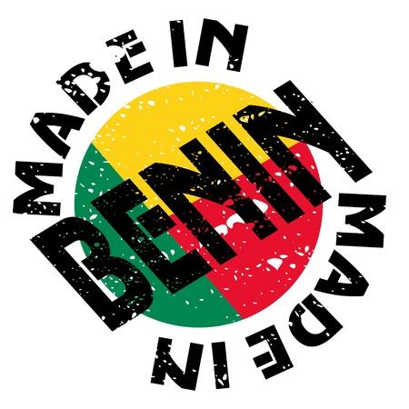 vector label Made in Benin Stock Vector - 13611756