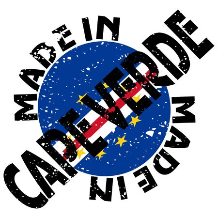 cape verde:  label Made in Cape Verde