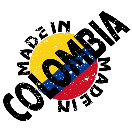 label Made in Colombia