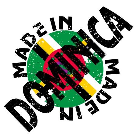 dominica: label Made in Dominica