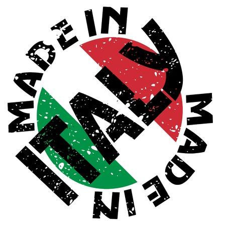 flaga włoch: etykieta Made in Italy