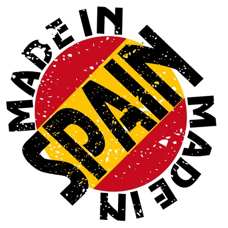made in spain:  label Made in Spain