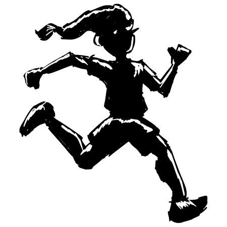 pinocchio: black silhouette of Pinocchio